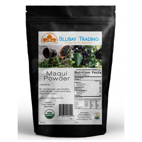 Maqui Berry Freeze Dried Powder Organic